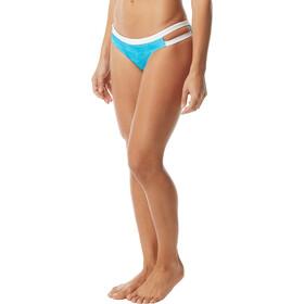 TYR Sandblasted Cove Slip del bikini Mujer, turquoise/white